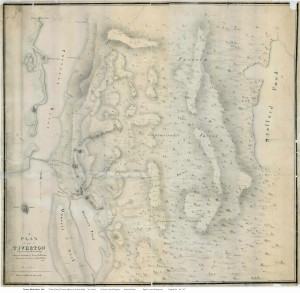 1819 Map of Tiverton