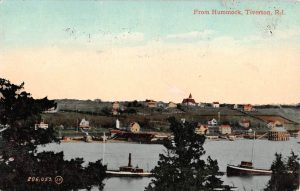 1908 View of Tiverton from The Hummocks in Portsmouth
