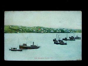 1910 Pogy Fishing Fleet