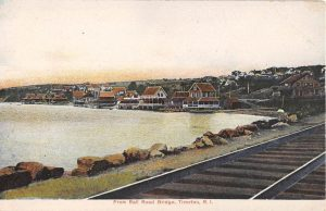 View from the Railroad tracks in 1910