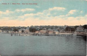 View from Stone Bridge in 1910