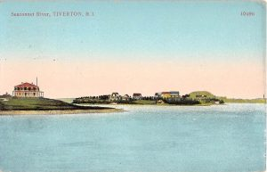 Sakonnet River and the Nathaniel Church estate in 1912 (viewed from Grinnell's Beach area)