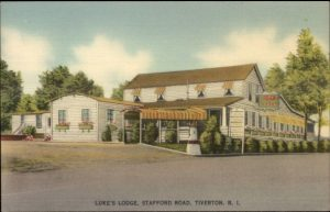 Luke's Lodge (now Brantal's Restaurant) Crandall Road