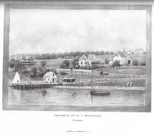 William J. Brightman House, ca. 1875 (across from Standish Boat Yard on Main Road)