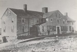 Bridgeport Block Fisheries Main Road just north of Nannaquaket Pond (front addition no longer there)