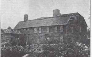 Old Crump's Tavern (1700's-1901) (corner of Souza & Main Roads)